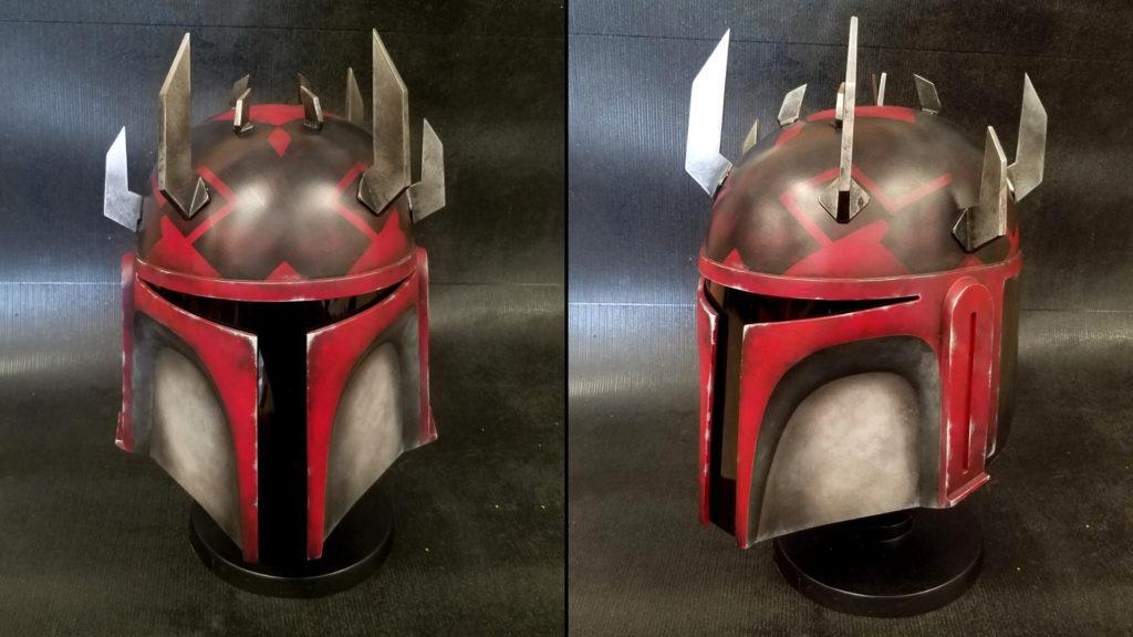 Helmet painted by Jeff Parks